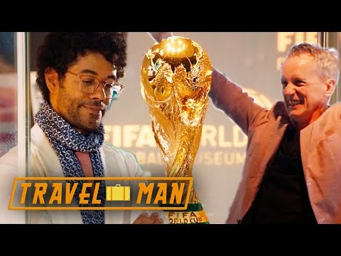 Richard and Frank Skinner visit the FIFA Museum | 48hrs in...Zurich