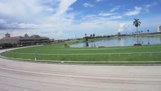 Quadcopter Aerial Video or Gulfstream Race Track, Aventura FL.