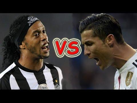 Xxx Mp4 Ronaldinho Vs Cristiano Ronaldo Freestyle Skills ● Crazy Tricks Ever 3gp Sex