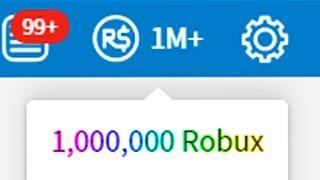 HITTING 1 MILLION ROBUX!! (Roblox)
