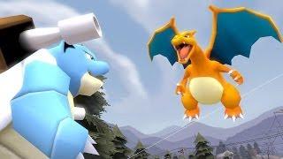 POKÉ-BUDS: Ep.1 - Blastoise and Charizard FIGHT! (Pokemon SFM)