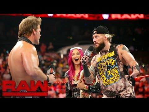 Xxx Mp4 Sasha Banks And Enzo Amore Are Confronted By A Couple Of Haters Raw Aug 1 2016 3gp Sex