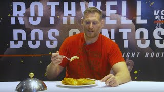 Fight Night Zagreb: Josh Barnett vs Croatian Food
