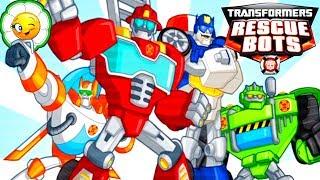 Transformers Rescue Bots #6 Приключения героев! Остров Гриффин Рок: новые задания Ботов спасателей!