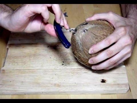 Cómo abrir un coco | facilisimo.com