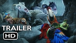 The Wild Life Official Trailer #1 (2016) Robinson Crusoe Animated Movie HD