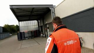 Staking TNT postbodes in Kerkrade