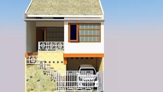 Rumah 2 Lantai di Lahan Terbatas