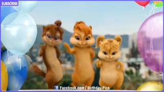 Chipmunks & Chipettes Style - Happy Birthday Song  | Song for Kid