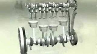 Funcionamento de motores 8v e 16v