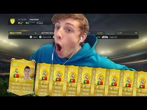 UNLIMITED RONALDO IN A PACK!! - TOP 10 PACKS #5