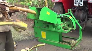 KAVISH AGRO FARM EQUIPMENTS-ERODE CELL:90803 57035,98652 54302-FARMWASTE SHREDDER -BANANA WASTAGE