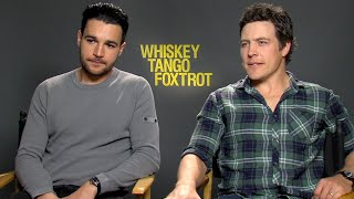 Whiskey Tango Foxtrot: Stephen Peacocke & Christopher Abbott Exclusive Interview