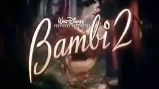 Bambi 2, El Príncipe Del Bosque (Tráiler Original 2006 Castellano)