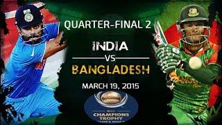 INDIA Vs BANGLADESH, ICC Champions Trophy (2nd Semi-Final) Live Stream