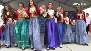 St. Basil Greek Orthodox Church of Houston TX. Dance group Palamakia 2016