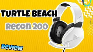 Turtle Beach Recon 200 headset review