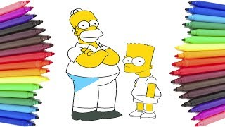The Simpsons Best Coloring Pages Full Episodes - The Simpsons New Cartoon Coloring