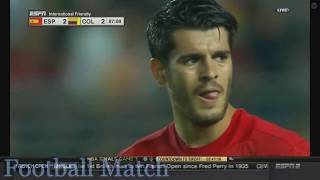 Spain vs Colombia 2-2 All Goals & Full Highlights HD 07-06-2017