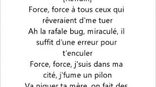 Lacrim - Oh bah oui ft. Booba - Lyrics