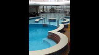 Adukt Pool aboard Disney Fantasy