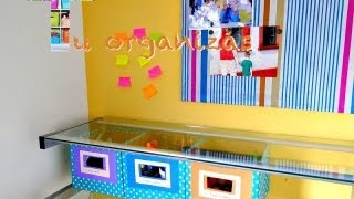 DIY:: Tu Organizas Transforma- Caixa organizadora