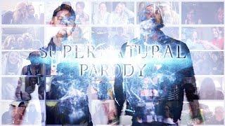 Hillywood Show: Supernatural Parody (MV Reactions Mashup vol. 2) | 10K SUBS BONUS