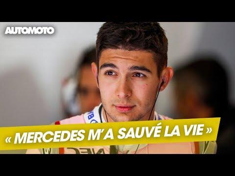 Rendez vous F1 Esteban Ocon Mercedes m a sauvé la vie