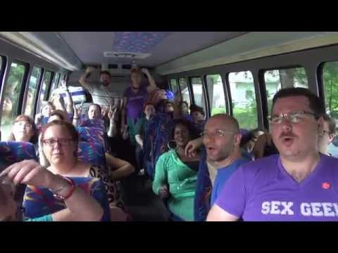 Sex Geek Summer Camp Bus On The Way To Woodhull!