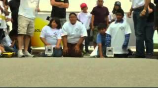 Kids compete in Zia Solar Car Race