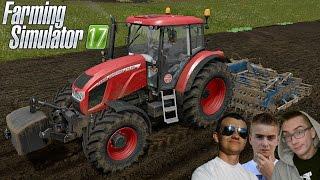 "Farming Simulator 17 MP ""od Zera Do Farmera"" #21 ☆Testy Zetura ㋡ MafiaSolec & Bronczek"