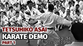 Tetsuhiko Asai, Shotokan Karate, Moscow 1996. part 1
