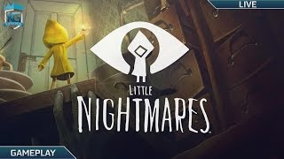 Little Nightmares! Part 2! [Twitch Archive] | Horror! Escaping our Fears! | 1080p 60FPS!