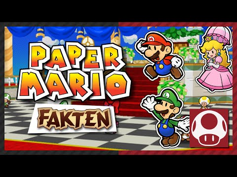 Partner in Sticker Star Paper Mario Facts & Trivia Gaming Physics