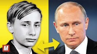 Vladimir Putin   From 6 to 64 Years Old