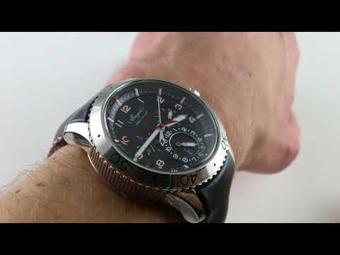 Xxx Mp4 Pre Owned Breguet Type XXII Flyback 10 Hz 3880ST H2 SX0 Luxury Watch Review 3gp Sex
