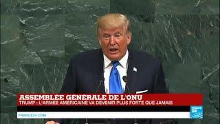 REPLAY - Discours de Donald Trump lors de l''Assemblée générale de l''ONU