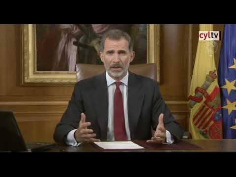 Mensaje íntegro del Rey Felipe VI a los españoles