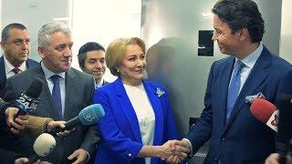 """Prima vizită în țară a Vioricăi Dăncilă: """"Cu aceste soluţii veţi rezolva problemele care le aveţi"""""""