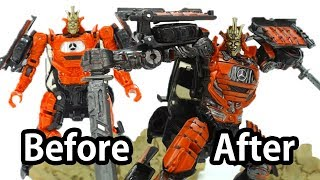 How to Customize Transformers 5 Toy? ( Before & After) - AUTOBOT DRIFT Deluxe Class Fast Detail Up