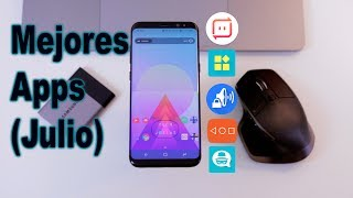Mejores Apps Julio 2017 Android - Galaxy S8!