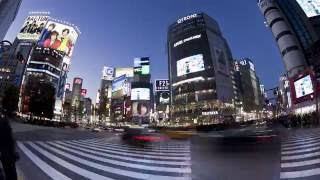 Time-lapse of Tokyo, Japan in 4k/hd