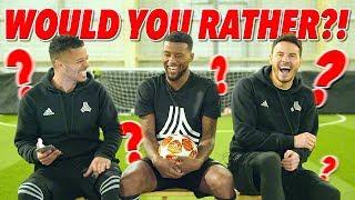 HILARIOUS WOULD YOU RATHER WITH GIGI WIJNALDUM! 😂   Liverpool 4-0 Barcelona