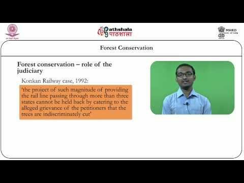 Forest conservation (Law)
