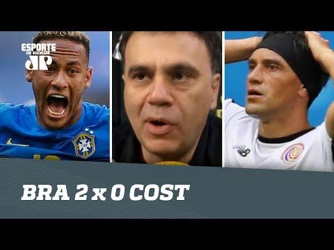 OLHA o que Mauro Beting achou de BRASIL 2 x 0 COSTA RICA!