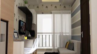 Desain Interior Apartemen Saveria