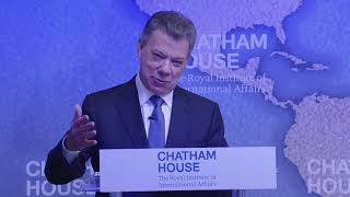 Chatham House Prize 2017: President Juan Manuel Santos