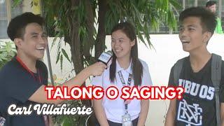 TALONG o SAGING? HAHAHA LAPTRIP!   Interview #4