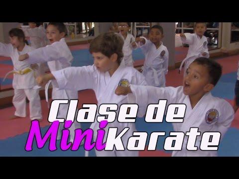 Como enseñar karate a niños de 3 a 5 años