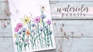 How To Use Watercolor Pencils for Beginners